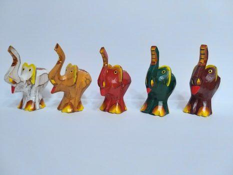 Fa faragott elefánt