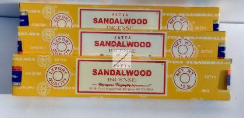 Sandalwood Satya füstölő-Szantálfa