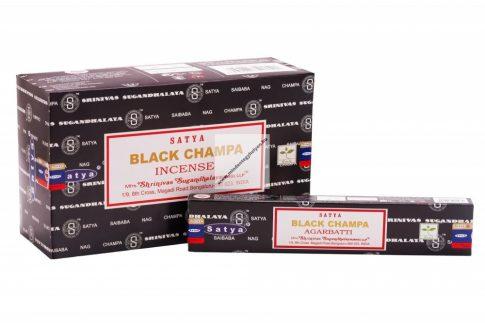 Satya Black Champa-Indiai Masala Füstölő