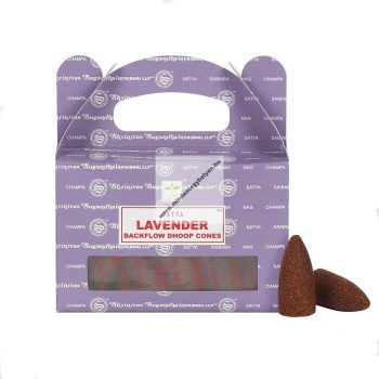 Satya Backflow-Lavender-Levendula-Kúpfüstölő