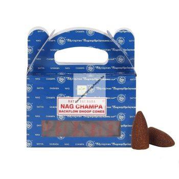 Satya Backflow-Nag Champa-Kúpfüstölő