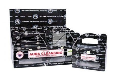 Satya Backflow-Aura Cleansing-Kúpfüstölő