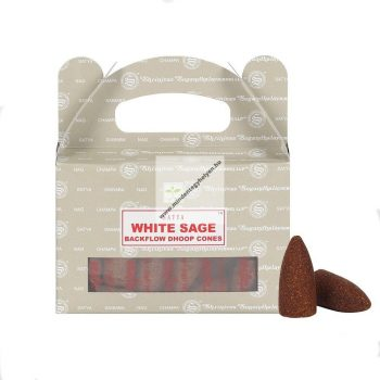 Satya Backflow-White Sage