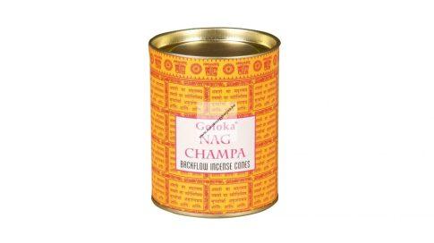 Goloka Nag Champa Back Flow Kúpfüstölő
