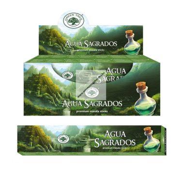 Green Tree-Aqua Sagrados-Élet Víze Füstölő