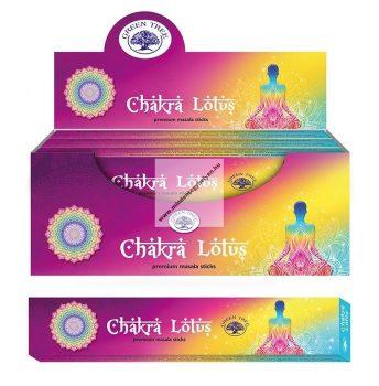 Green Tree-Chakra Lotus-Csakra Lótusz
