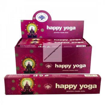 Green Tree-Happy Yoga-Boldog Jóga