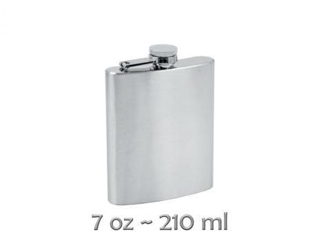 Gravírozható fém flaska