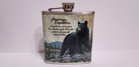 Fém flaska-Medve