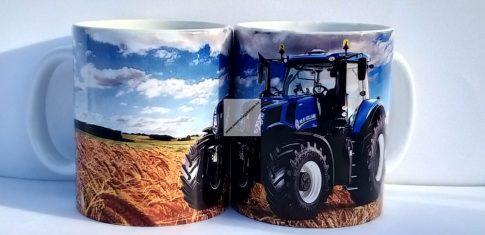 Kék traktor